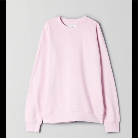 Aritzia TNA Boyfriend crew sweater